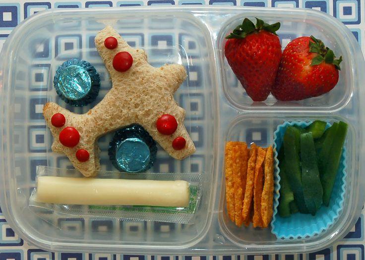 Airplane Bento Box for Kids