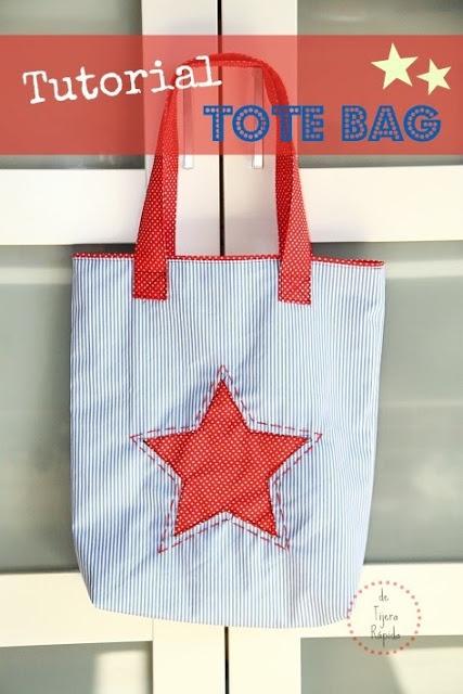 Tutorial how to make a tote bag