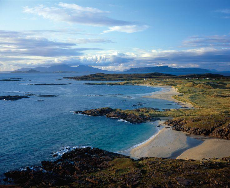 Ardnamurchan Penisula on the West Coast of Scotland