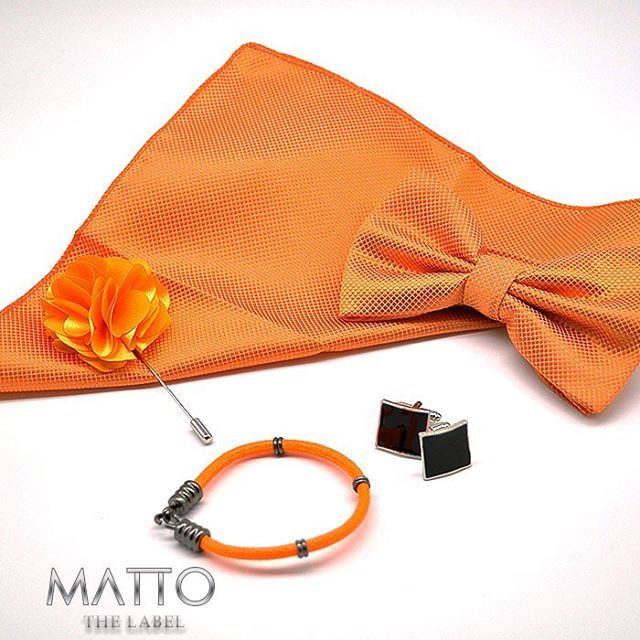 MATTO THE LABEL | | Simple | Elegant | Divine | | Follow us on Facebook & Instagram |  Orange Combo - Mix & match to add that finishing touch