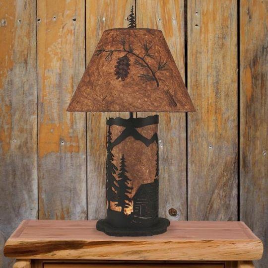 21 Best Rustic Metal Art Lamps Images On Pinterest Metal