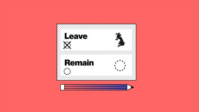 Should it stay or should it go? We explained through motion graphics and Britain's iconic symbols one of the more crucial political dilemma of these times. Editorial is the new tech.  CLIENT: bloomberg.com STUDIO: Illo DESIGN: Ilenia Notarangelo, Arianna Cristiano ANIMATION : Miriam Palopoli, Laurentiu Lunic  http://illo.tv/portfolio/brexit http://www.bloomberg.com/graphics/2016-brexit-watch/