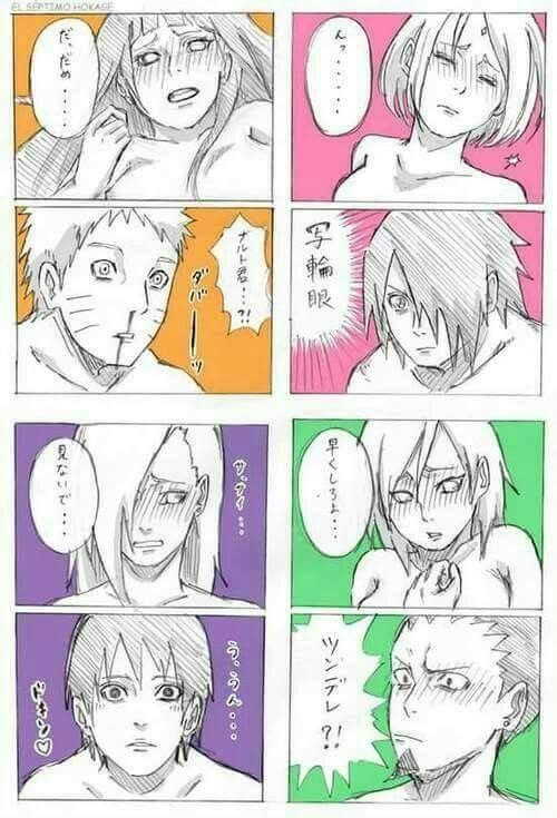 Boys reactions when seeing their girls naked  Naruto's nosebleeding ❤️❤️❤️