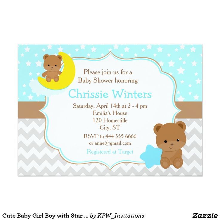 23 best Baby Shower Invitations images on Pinterest | Baby shower ...