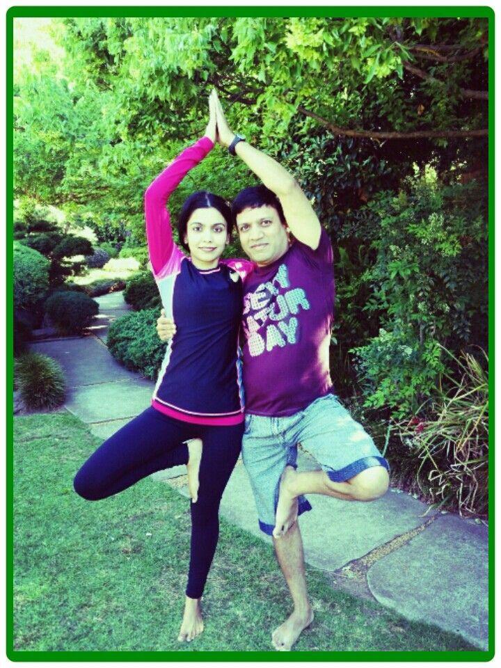 Partner Yoga!