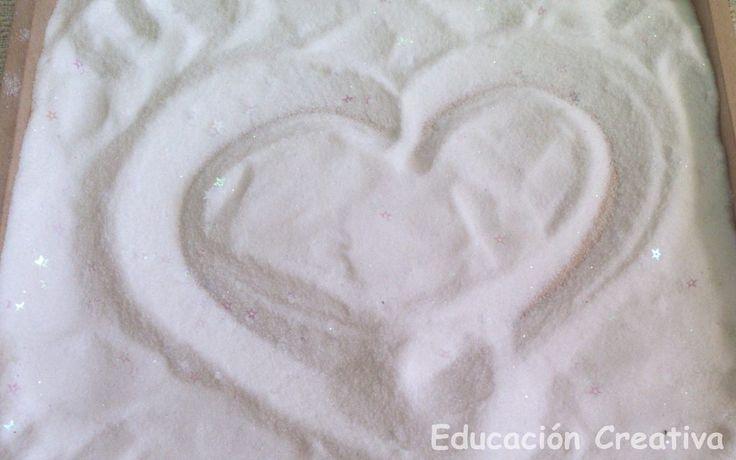 Pre Escritura en Sal: Polvo de Hadas | Educación Creativa