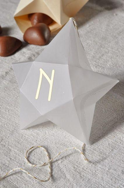 L'Art de la Curiosité: Péparer Noël # 1 : Des étoiles pour l'Avent