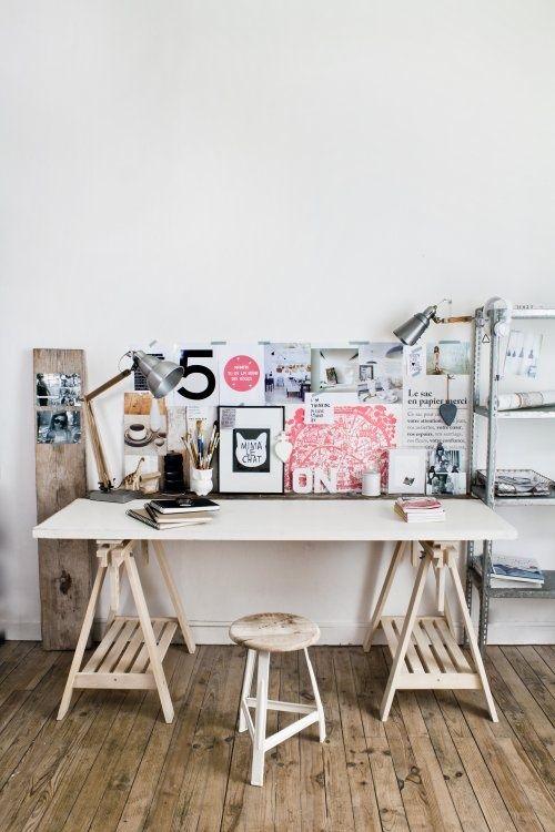 inspiring workspace (via Valentina / Pinterest)
