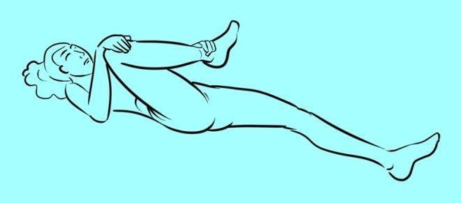 Разблокируй седалищный нерв делай 2 простых упражнения