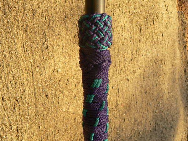turks head knot fishing rod grip | Knot Work | Pinterest ...