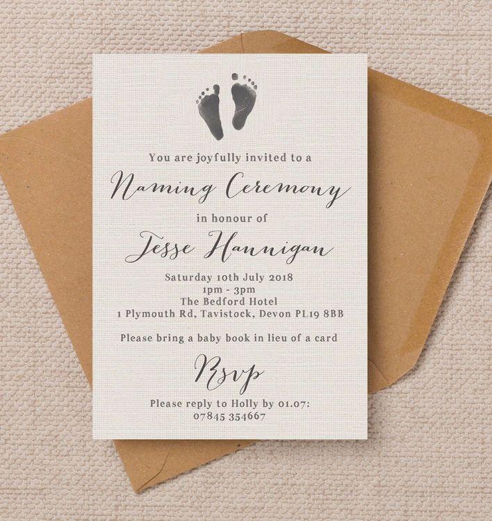Best  Naming Ceremony Invitation Ideas On   Naming