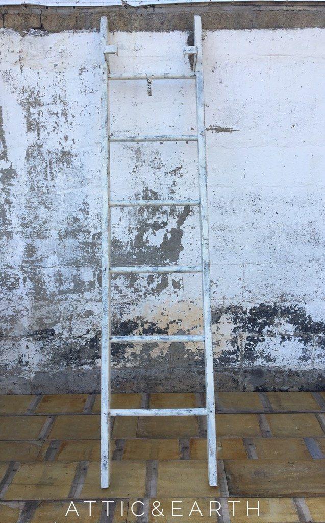 White Farmhouse Ladder