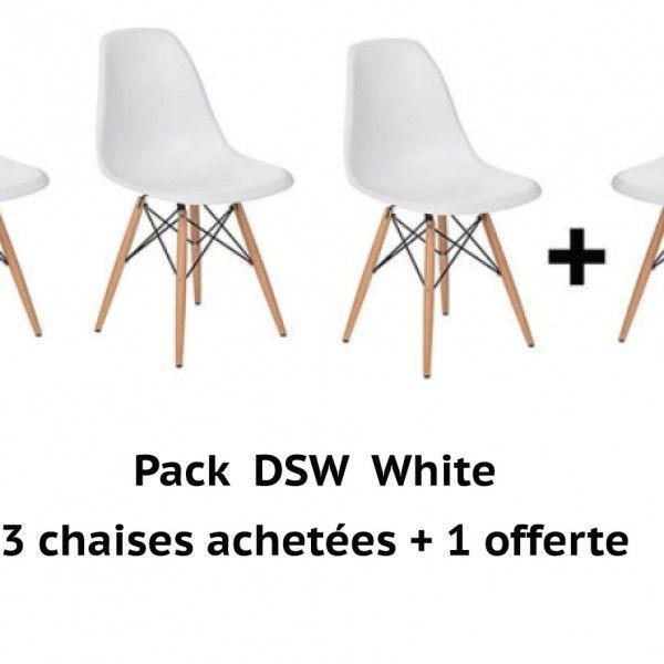 PACK DSW WHITE 4