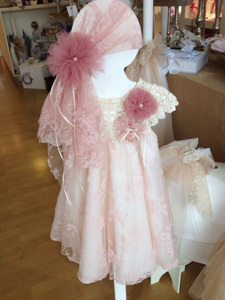 Pupetta baptism , christening dress
