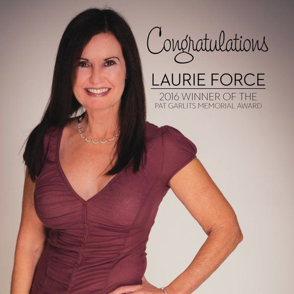 Congratulations to Laurie Force for winning the 2016 Pat ...