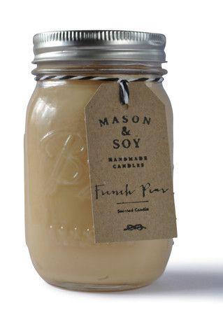 Ball Mason Jar (437 mls) Scented Soy Candle – Mason & Soy Handmade Candles