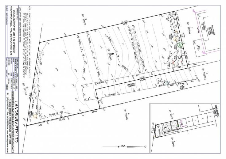 Land dimensions for 8/40 Martinelli Ave - Banora Point , NSW