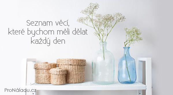 Seznam věcí, které bychom měli dělat každý den | ProNáladu.cz