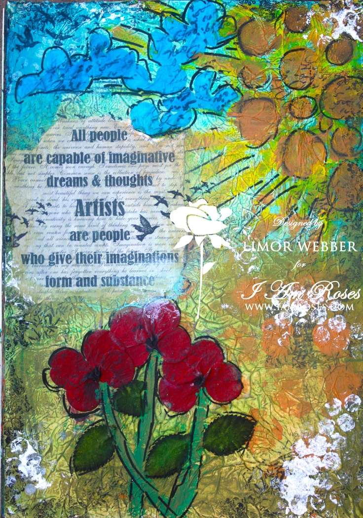 Artist Art Journal Page - Scrapbook.com