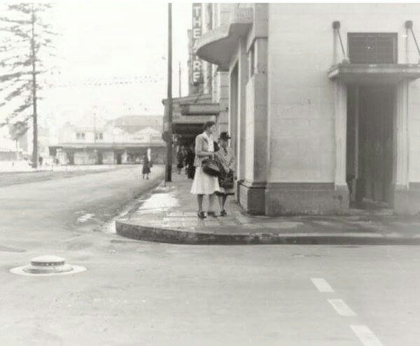 Manly Theatre on Belgrave St, Manly,in the Northern Beaches region of Sydney in 1948.