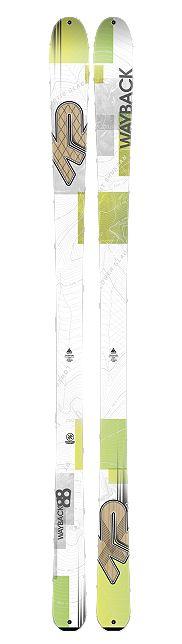 Ski de randonnée K2 Wayback 88 comparer et acheter le au meilleur prix en magasin ou sur le web #k2 #ski #randonnee #freeski #2015