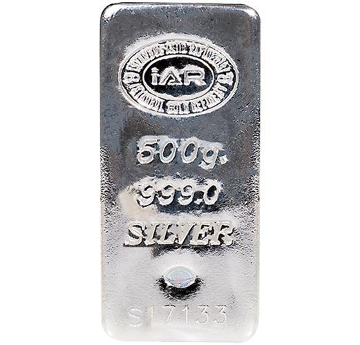 500 gr Gram Külçe Gümüş / GRAMALTIN