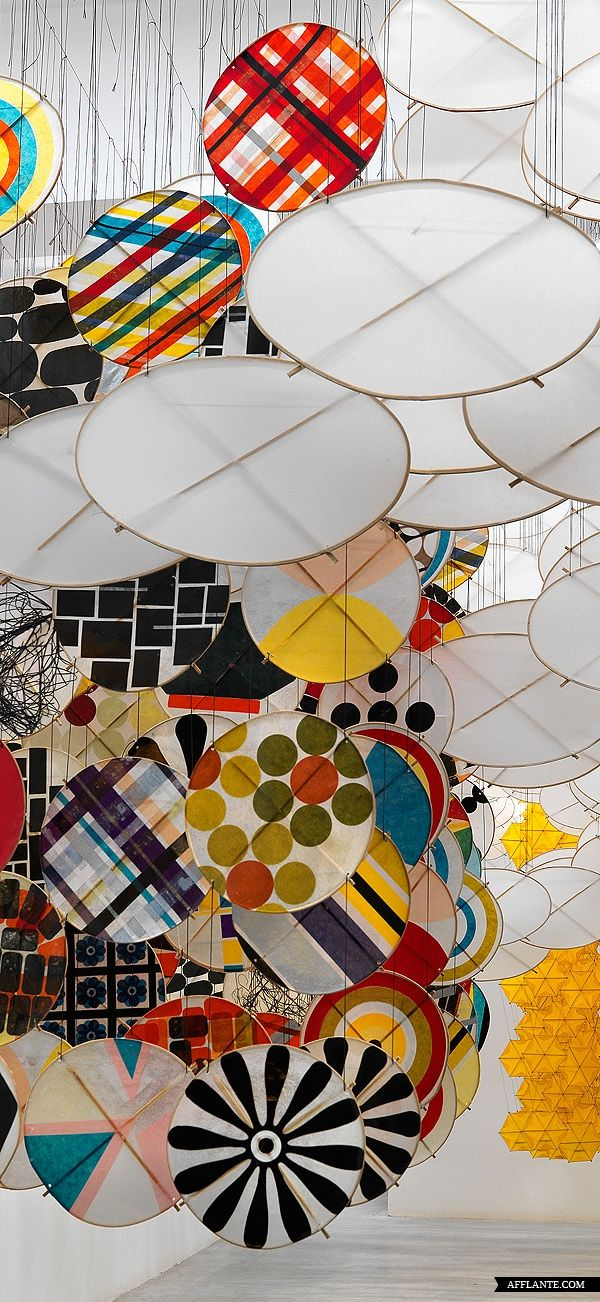 "Something ""harder"" - tissue and reed JACOB HASHIMOTO • The Other Sun • 2012 • http://jacobhashimoto.com"