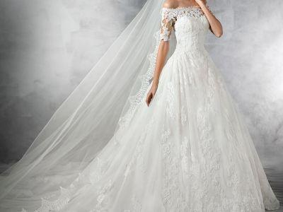 10 vestidos de novia vistos en Printerest que te inspirarán para tu gran día