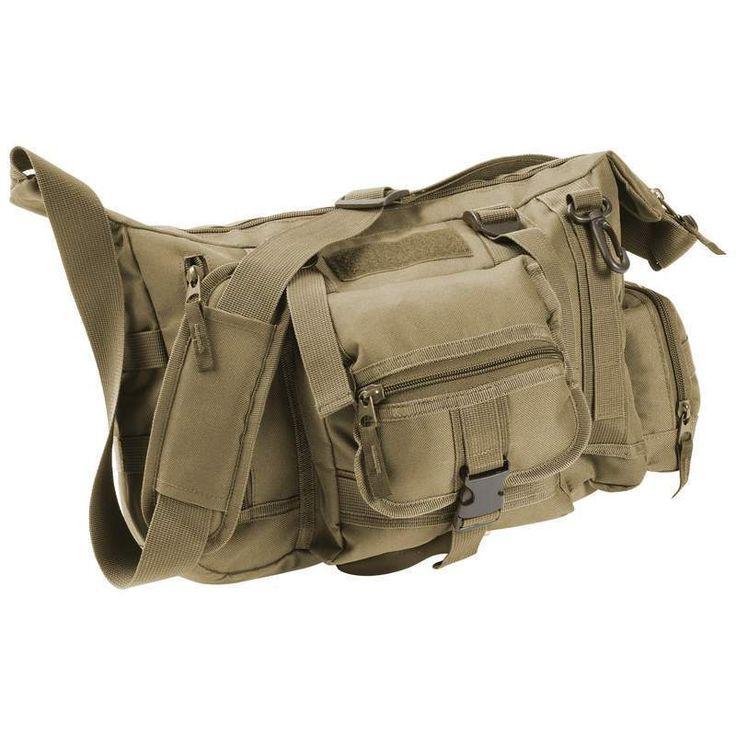 "Extreme Pak™ Olive Drab Green 15"" Tactical Style Messenger Bag"
