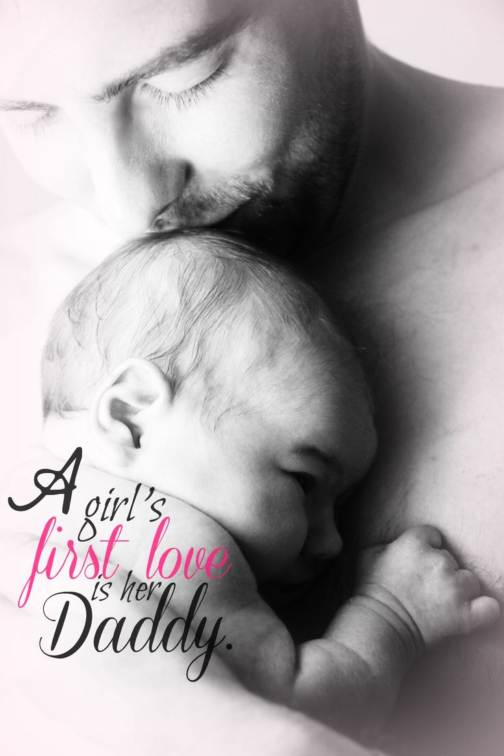 baby, father, dad, daddy, first love, valentine's day, kiss, sweet, newborn