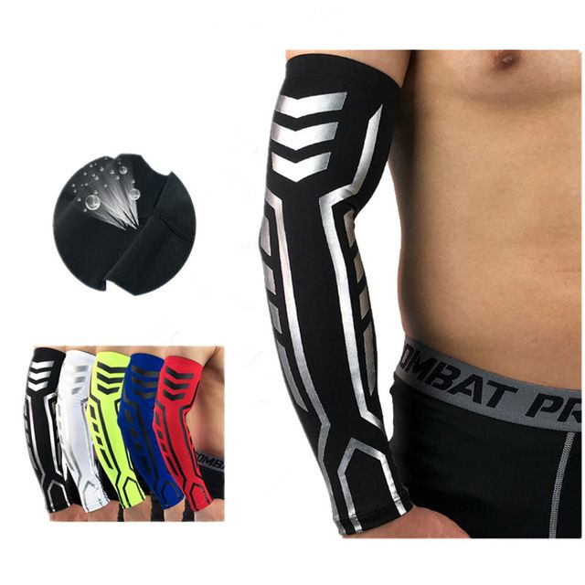 High Elastic Pressure Basketball Arm Sleeves Running Cycling Arm Warmers Compression Arm Protect Compression Arm Sleeves Basketball Arm Sleeves Cycling Sleeves