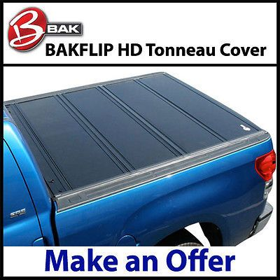 2015 Ford F150 Bak BakFlip HD Folding Tonneau Cover 77.75 Standard Size Bed