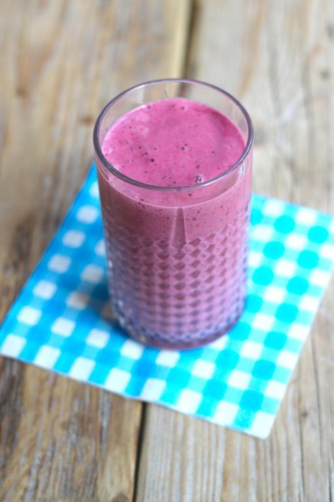 Bosvruchten smoothie - Lekker en Simpel