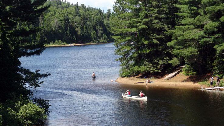 Wapizagonke Lake, Chemin des Cascades, La Mauricie National Park, Shawinigan…