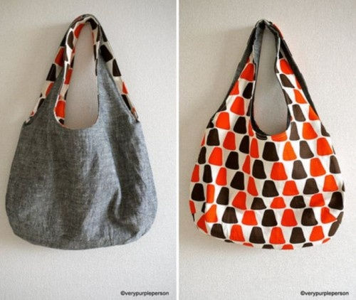 reversibleBags Tutorials, Sewing Projects, Reverse Bags, Sewing Pattern, Bags Pattern, Handbags Sewing, Sewing Ideas, Bag Patterns, Crafts