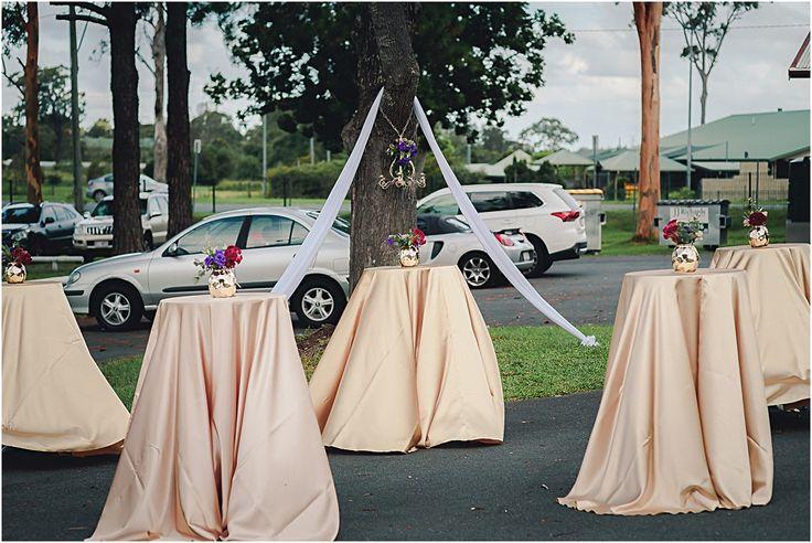Mudgeeraba Hall Wedding Styling