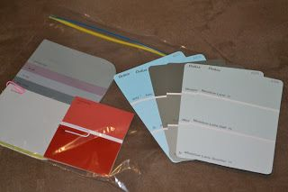 Paint Chip Memory Game