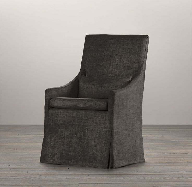 Belgian Slope Arm Slipcovered Armchair Tommy Room
