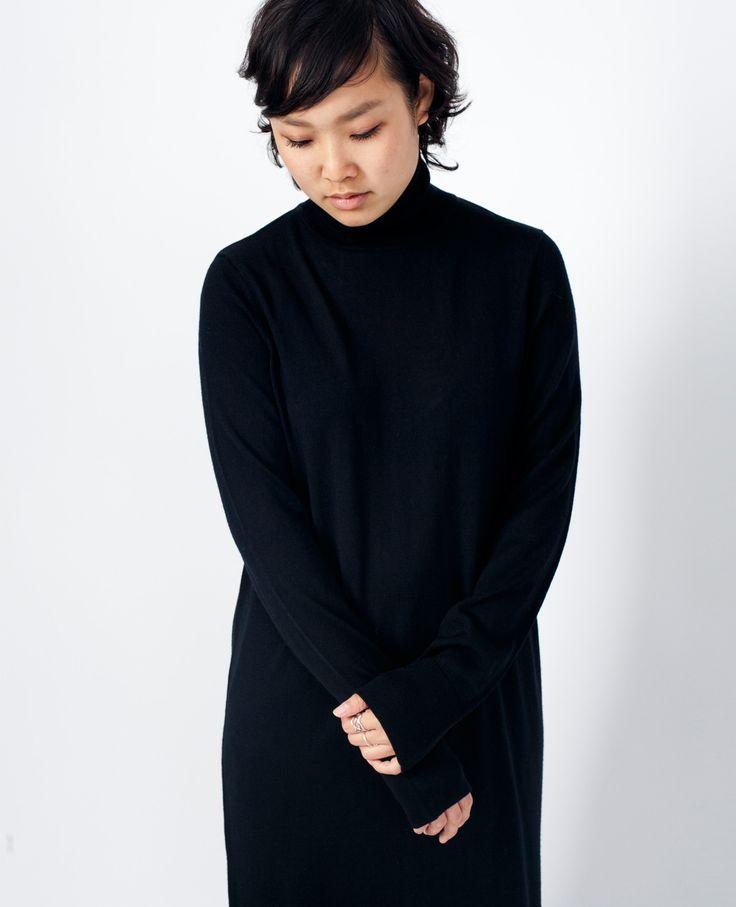 Samsoe Samsoe Sanella T-Neck Dress Black