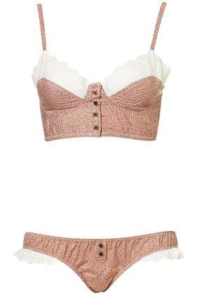 Floral underwear