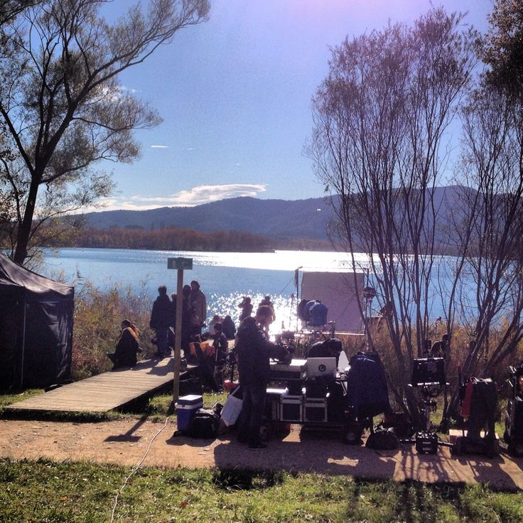 Rodatge a l'estany! #Banyoles / 22-11-2013