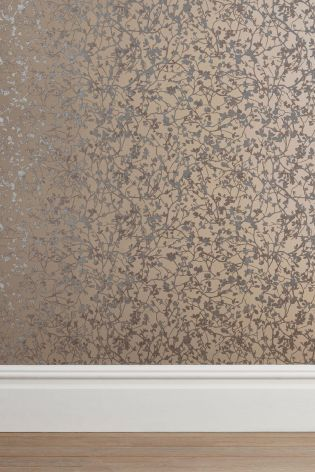 Buy Blossom Mink Wallpaper from the Next UK online shop