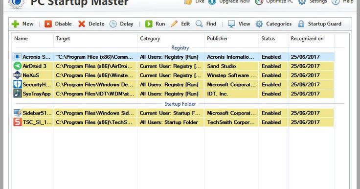 Το PC Startup Master βελτιώνει σημαντικά την ταχύτητα εκκίνησης του υπολογιστή σας επιτρέποντάς σας να απενεργοποιείτε τις περιττές εφαρμογές που εκτελούνται αυτόματα κατά την εκκίνηση του συστήματος που προκαλούν επιπλέον καθυστέρηση εκκίνησης. Αυτό γίνεται χρησιμοποιώντας μια διεπαφή χρήστη πρωτοβουλίας που κάνει το PC Startup Master κατάλληλο για αρχάριους αλλά και έμπειρους χρήστες. Το Startup Guard είναι μια προσθήκη ασφαλείας του PC Startup Master που είναι σε θέση να παρακολουθεί να…