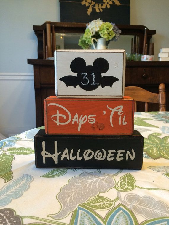 Countdown to Halloween Disney Mickey Mouse by AppleJackDesign, $26.95