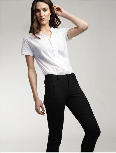 Pantalon chupin - negro  dd2ca109379f