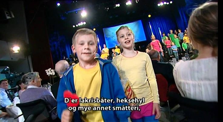 """Children's show: """"Brunstad, glorious Brunstad"""" The children's show is a feature that was enjoyed around the world during this season's Brunstad Feast. A rap and a dance with hundreds of friends from far and near appealed to both young and old. You can watch a small taste here:"""