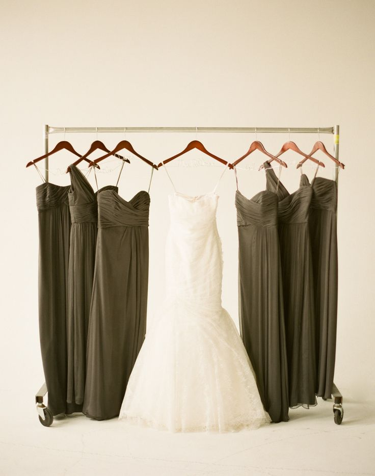 Love these #olive bridesmaid dresses | Tribeca Rooftop Wedding from Lindsay Madden Photography + Fiore Films  Read more - http://www.stylemepretty.com/new-york-weddings/2013/08/26/tribeca-rooftop-wedding-from-lindsay-madden-photography-fiore-films/