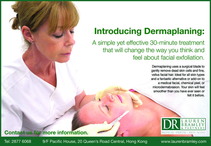 Introducing Dermaplaning - A simple yet effective 30-minute treatment that will change the way you think and feel about facial exfoliation.
