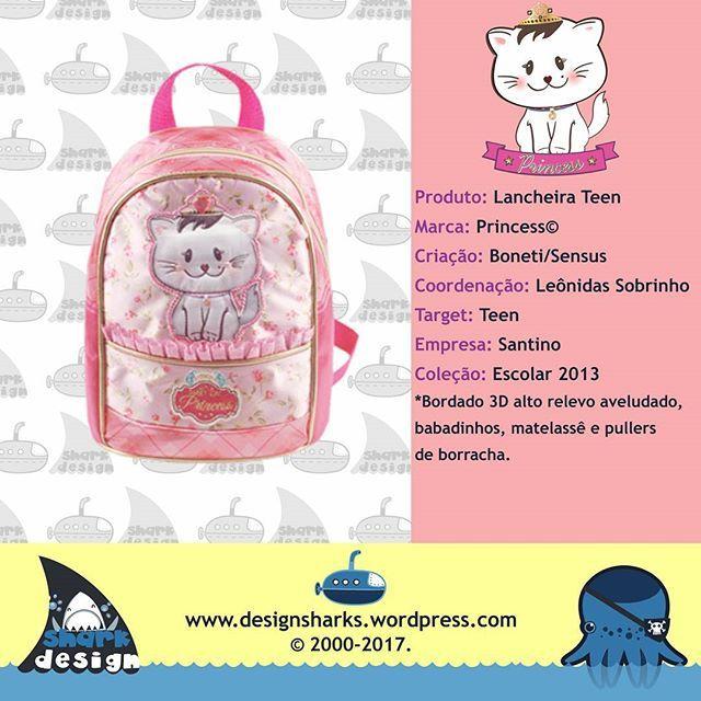A hora do lanche, tenha uma lancheira que seja uma gatinha... #princess #cat #backpack #mochilas #design #designgrafico #productdesign #projectdesign #graphicdesign #web #webdesign #logo #logotipos #marcas #leonidas #leonidasdesigner #sharks #tubarao #tubaroes #spartan