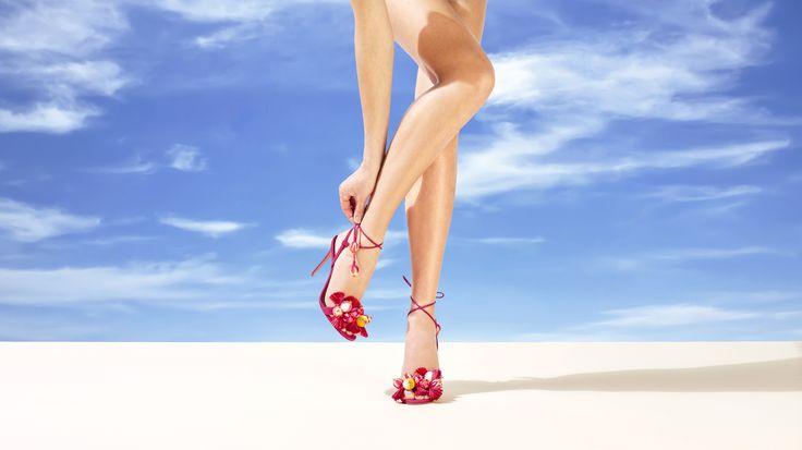 Paradise Pink Tropicana Sandals 105
